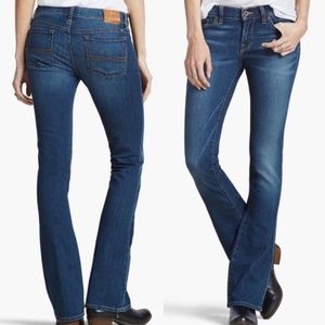 Lucky Brand Jeans Blue Charlie Baby Boot Jeans
